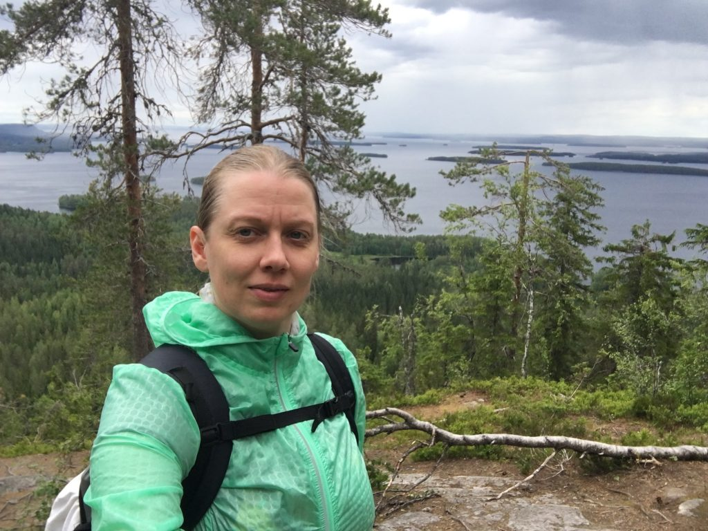 Virva Kolilla kesällä 2019
