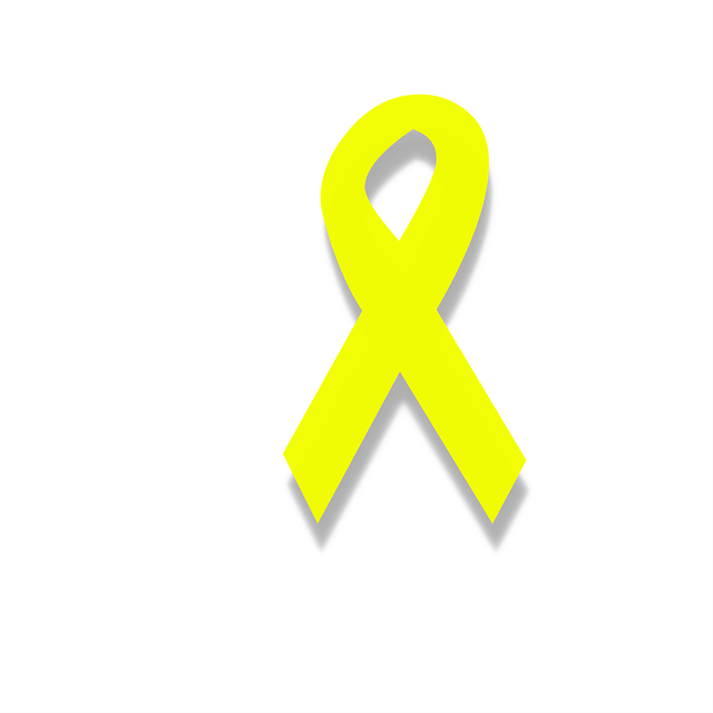 Keltainen nauha on endometrioosin tunnusmerkki.
