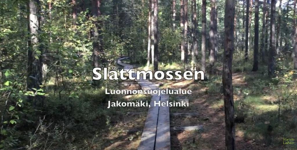 Slåttmossen Jakomäessä Helsingissä